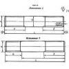 Шпильки для фланцевых соединений по ГОСТ 9066-75